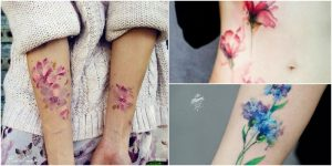 7 creative watercolor tattoos made to showcase your for Best sunscreen for tattoos reddit