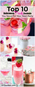 pretty pink cocktail recipes