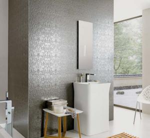 inlays metallic tiles