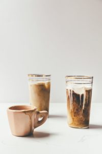 I am so OBSESSED with this iced horchata latte recipe! Omg!!