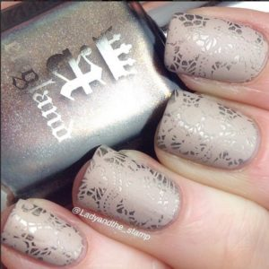 The luster on these nails is too cool! I want to try this out!