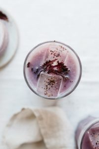 This cold-brewed shiso & hibiscus recipe is surely going to satisfy your cold brew summer cravings!