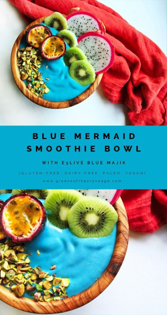This blue mermaid smoothie bowl is such a knock out! It is just so gorgeous! I can't wait to try this recipe!