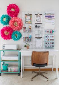 Craft Room Organization Inspiration Photo