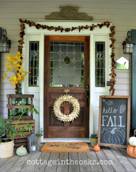 These 27 Fall Porch Decor Ideas Are STUNNING! If you use any of these you are for sure going to have the best porch on the street!