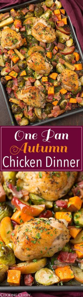 These 19 One Pan Fall Recipes Are So DELICIOUS! All of these can be altered to your tastes whether you're vegetarian or vegan. Regardless of how you do it, they save lots of time! Oh, and less dishes too!