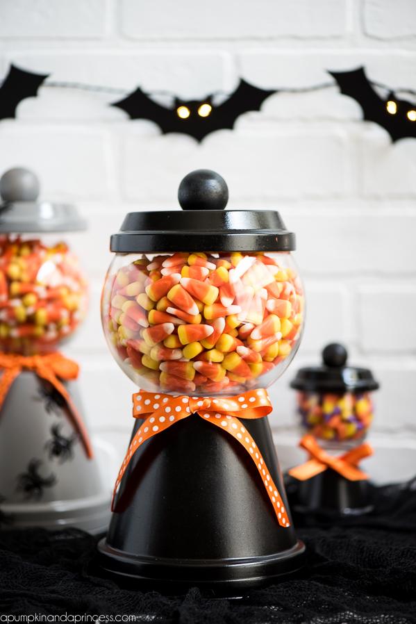 DIY Candy Corn Dispenser Machine
