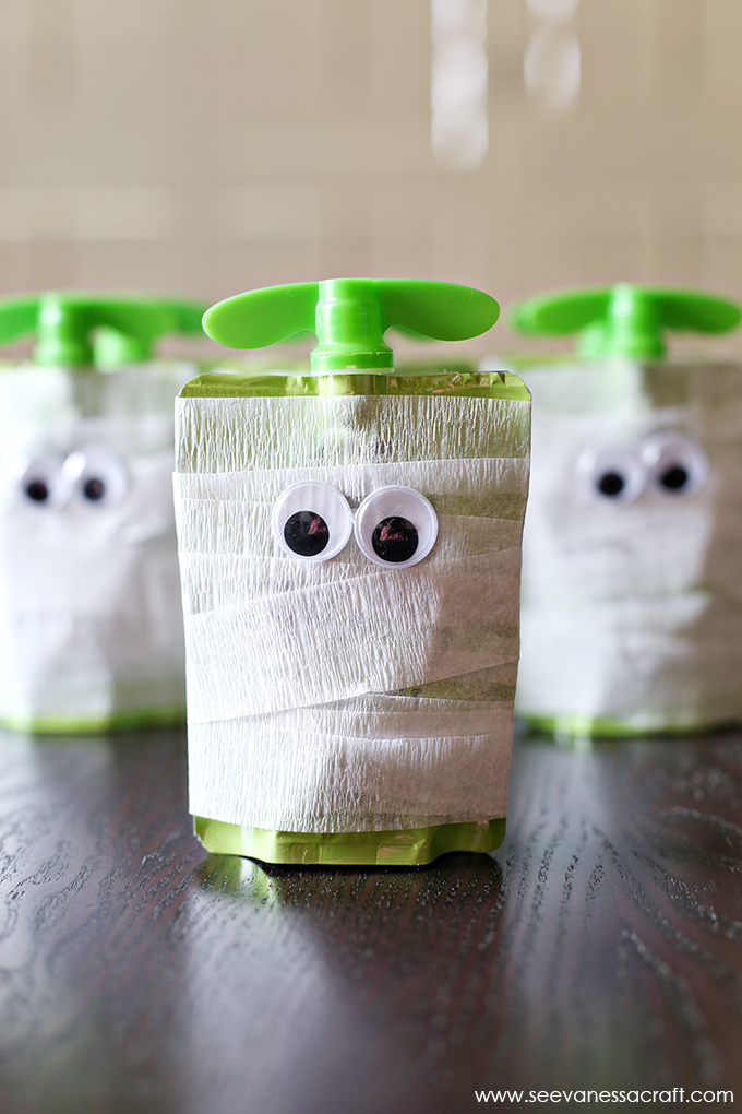 DIY Mummy Applesauce for Kids