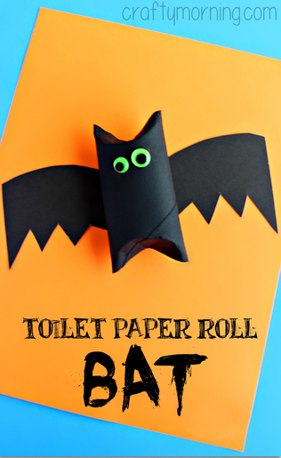 DIY Toilet paper Roll Bat