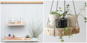 These 20 DIY Hanging Shelves Are Perfect If You Are Looking To Try A More Minimalist Approach With Your Home Decor. Perfect for those who love indoor gardens!