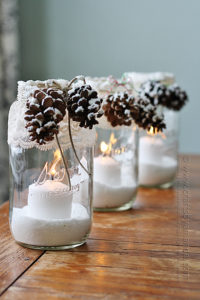 These 37 Dollar Store DIY Christmas Decor Ideas Are EVERYTHING! I can't believe on easy it is to decorate on the cheap!