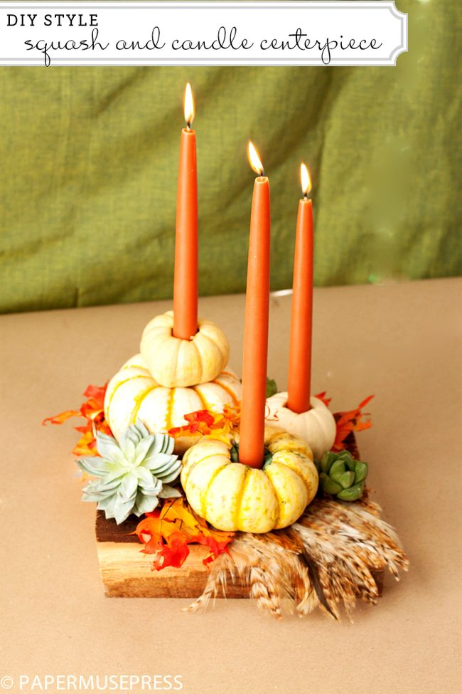 These 19 DIY Thanksgiving Centerpieces Are AH-MAY-ZING! I love how cute you can make these projects on the cheap!