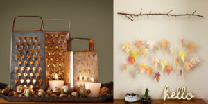 These 23 Thanksgiving Decor DIYs Are So ADORABLE! I love the centerpieces and door hangings!