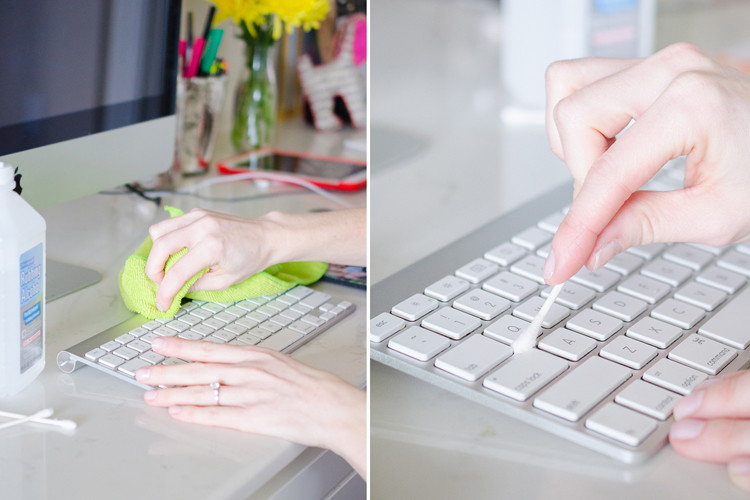 You won't believe how easy it is to get rid of particles stuck in your keyboard!