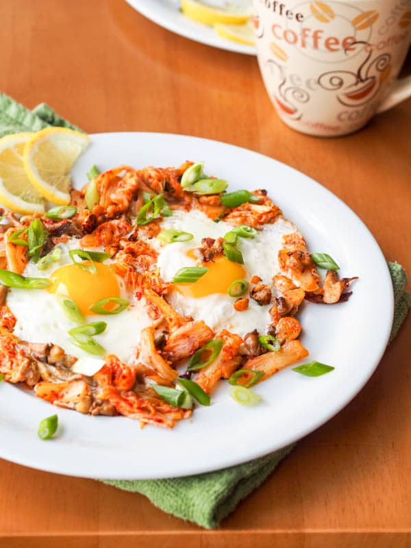 Find out how to make the perfect keto kimchi morning scramble!