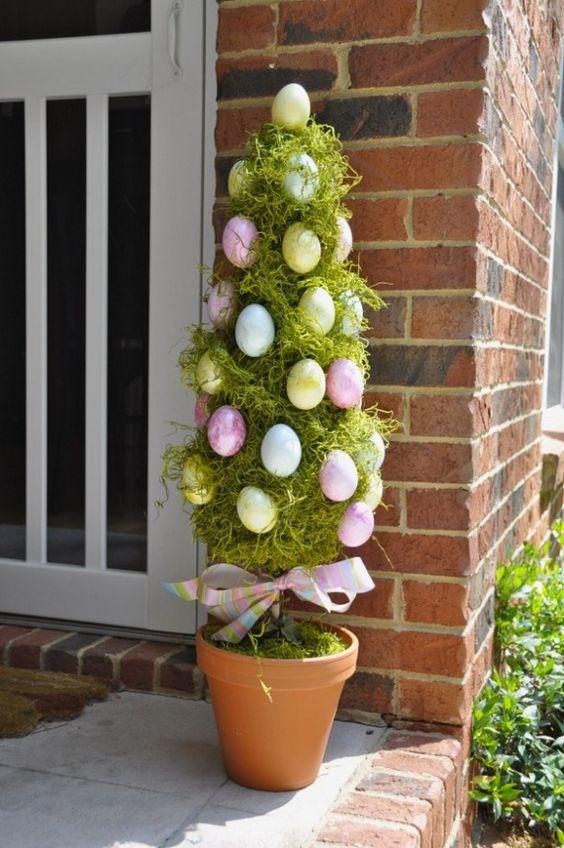 Easter Egg Tree DIY