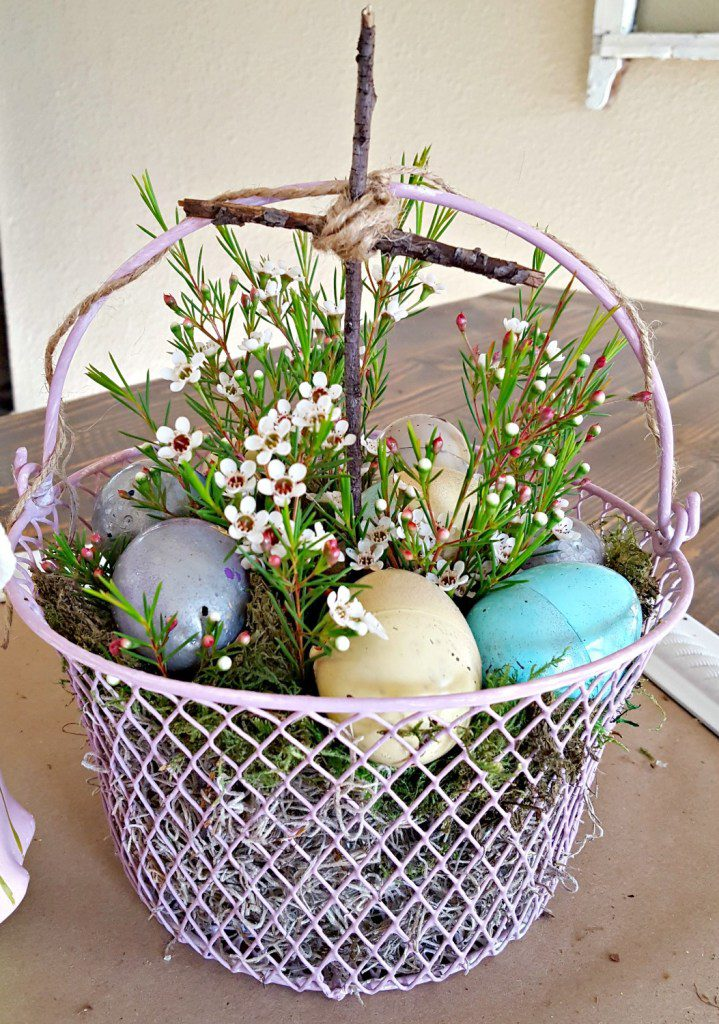Rustic Easter Home Decor