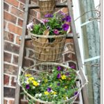 This tiered planter idea will have guests in awe before they even step foot into your home.
