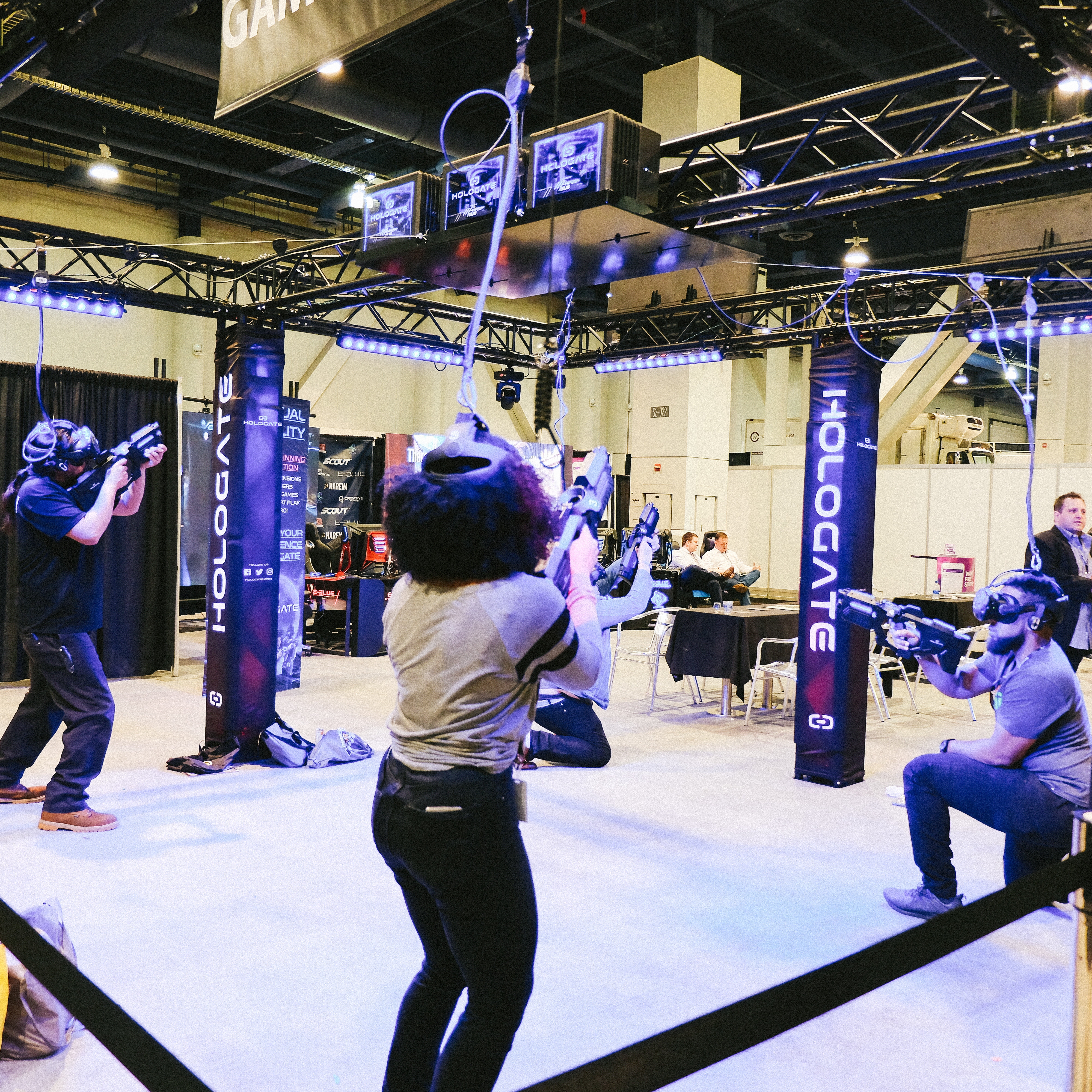 Virtual reality bar show