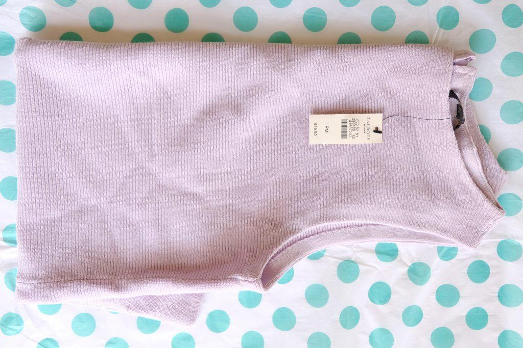 Talbots Pastel Lavender Sweater