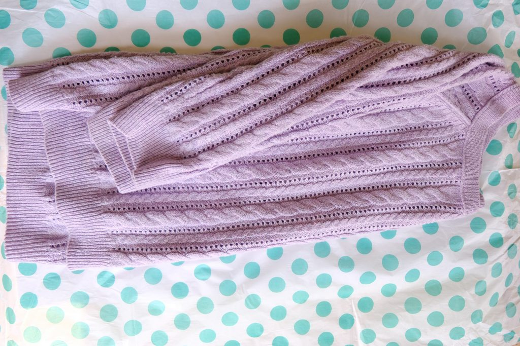 Patterned Pastel Sweater