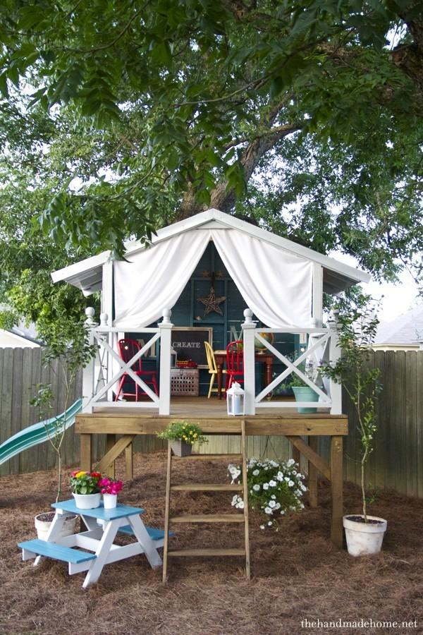 Treeless Treehouse