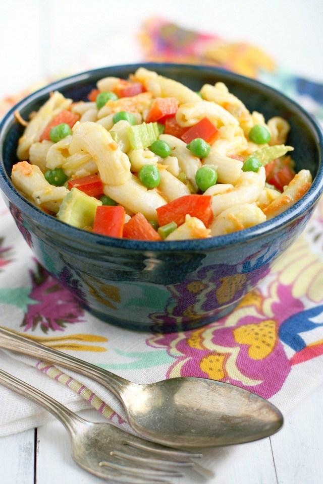 Vegan Macaroni Salad for Fourth of July