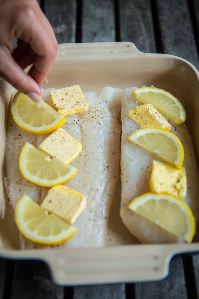 Lemon Butter Cod Frugal Recipe