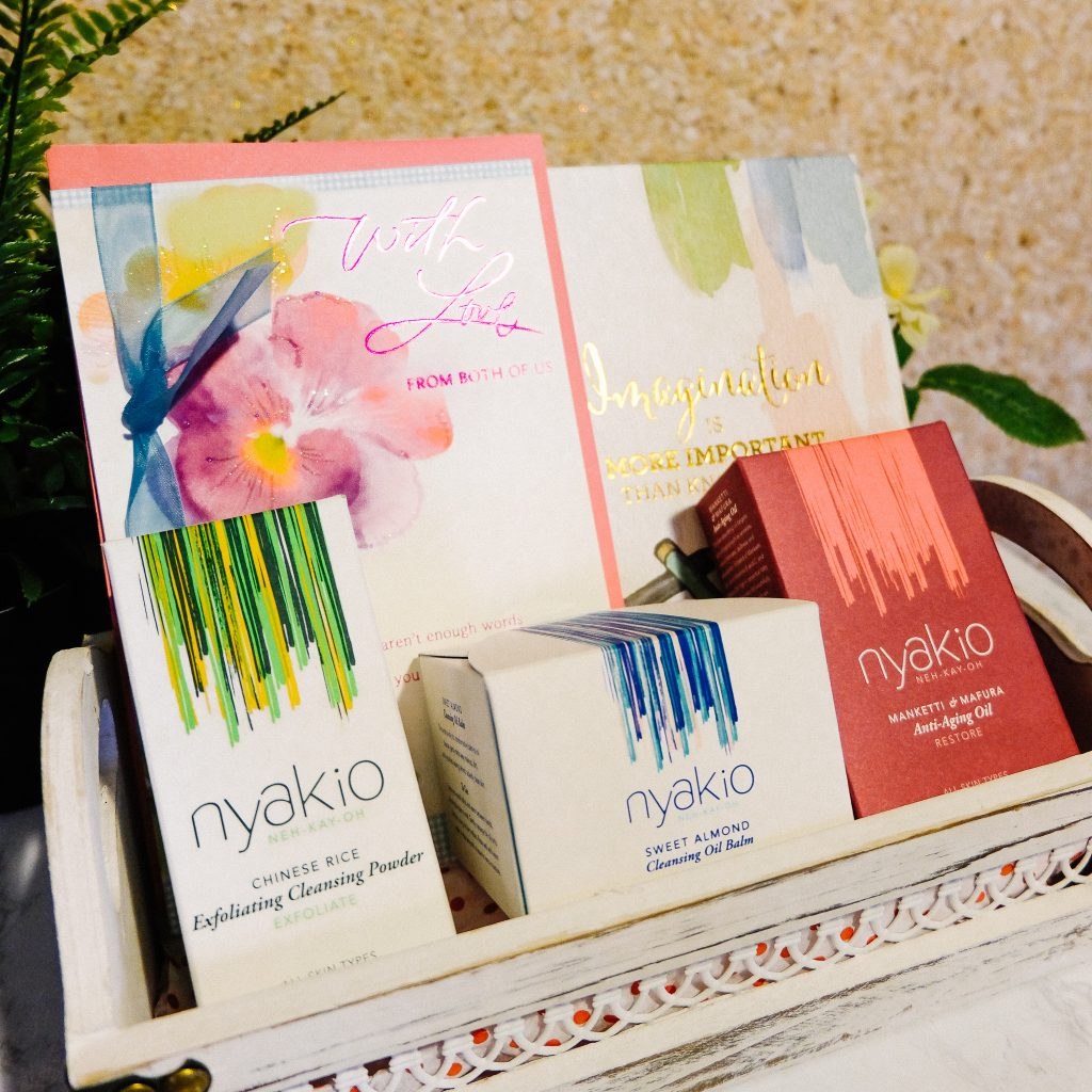 Nyakio Skincare Products Gift Basket