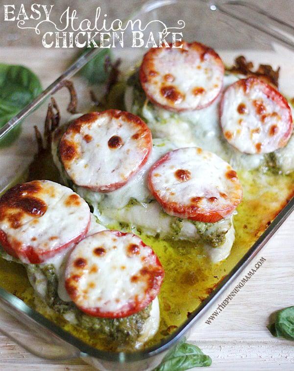 Pesto Chicken Bake Budget Recipe