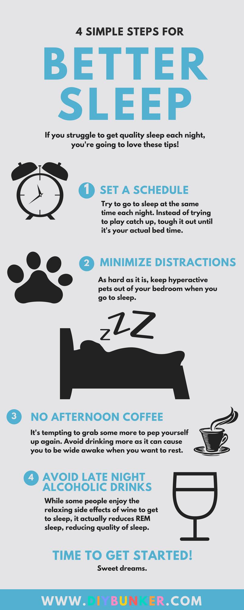 4 Tips To Get Better Sleep