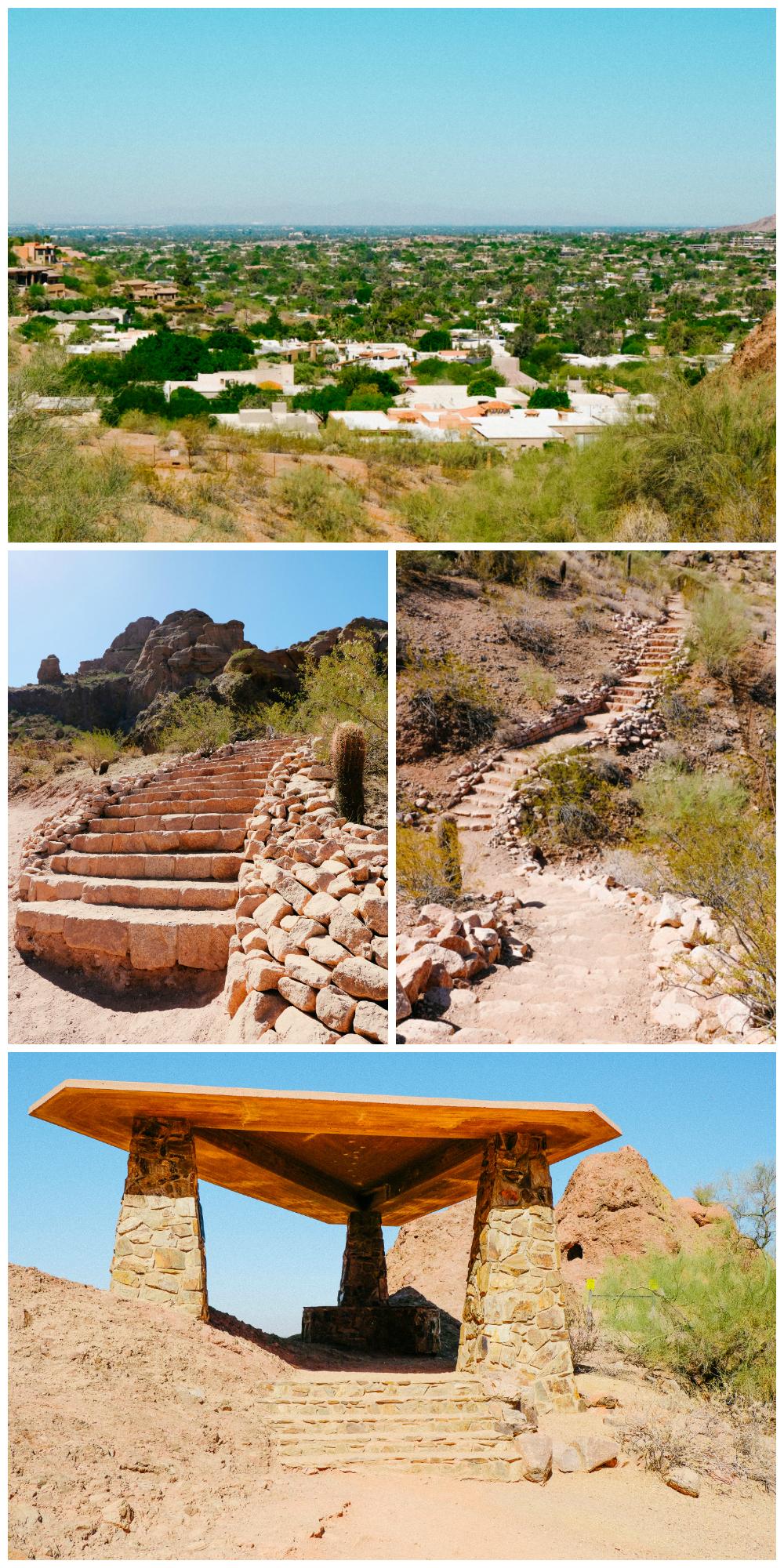Echo Canyon Trail in Camelback Mountain - Scottsdale, AZ
