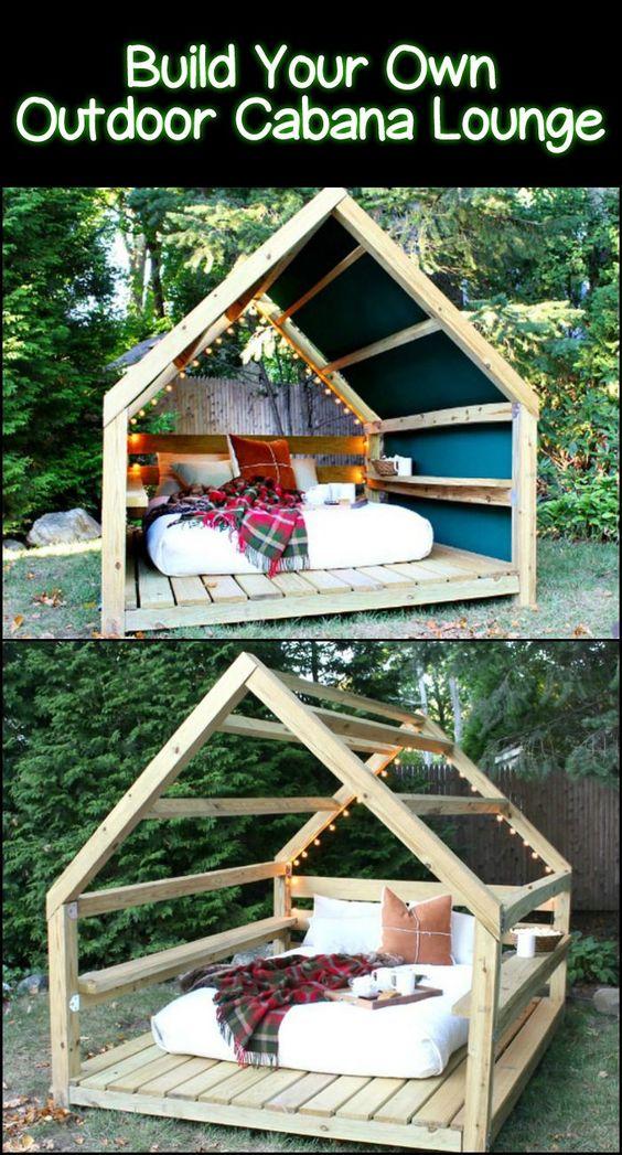 DIY Backyard Cabana