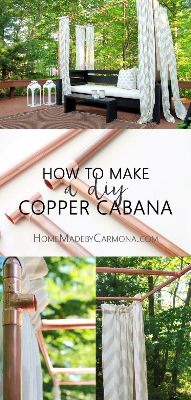 DIY Copper Cabana