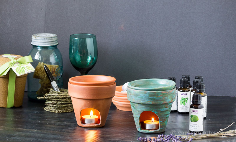 DIY Essential Oil Diffuser From Clay Pot