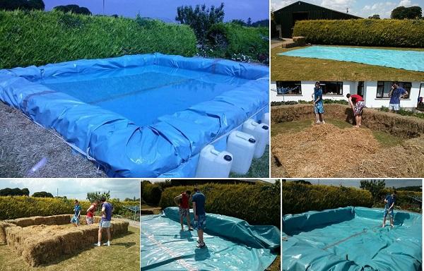 DIY Pool Project for Backyard