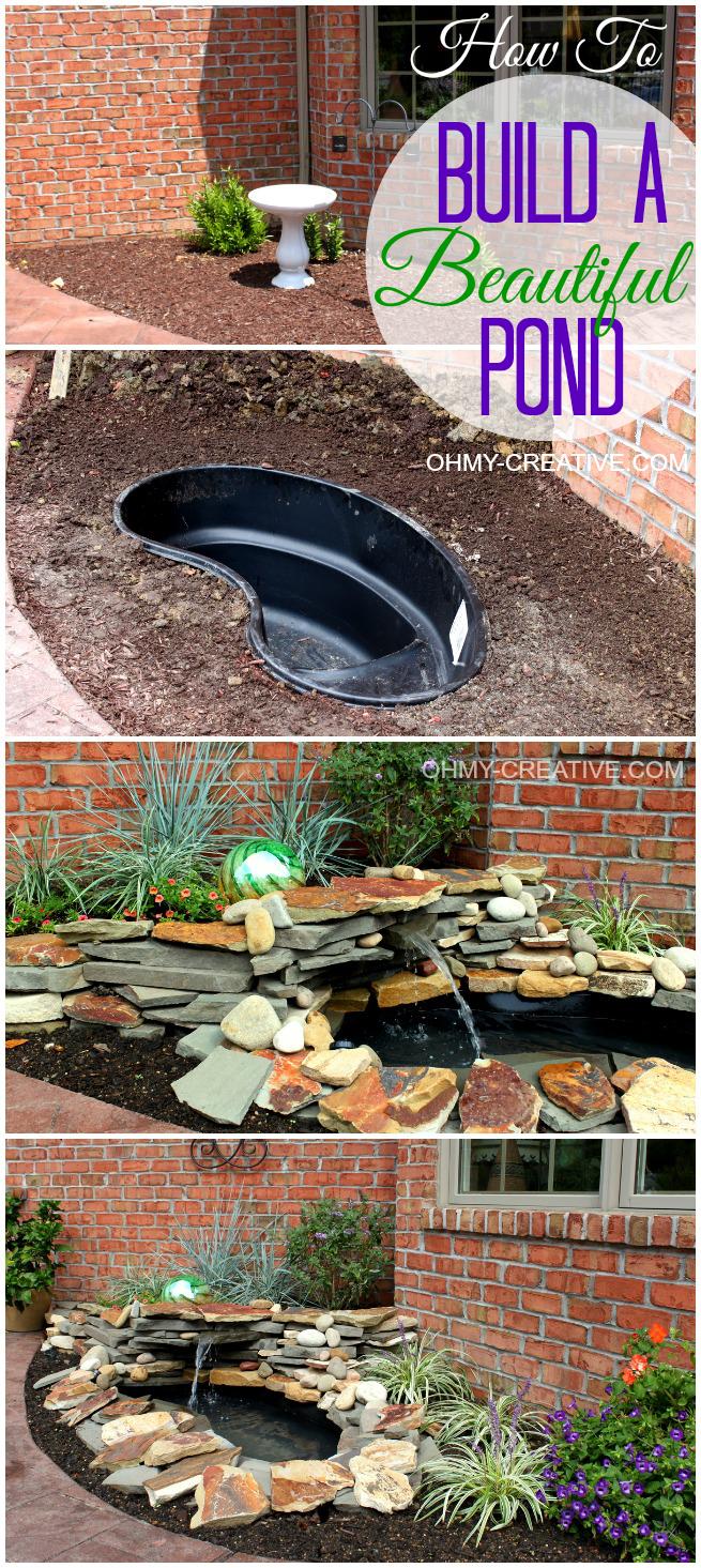 DIY Backyard Pond Project