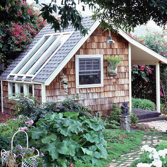 Greenhouse & Garden Shed Idea to DIY