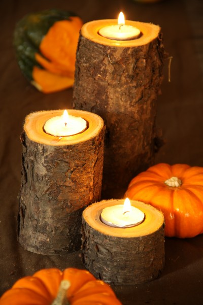 Easy DIY Rustic Fall Candle Project | Autumn Decor Ideas