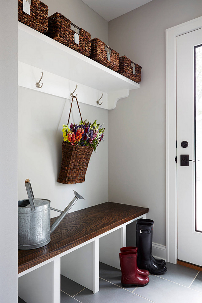 Gardener's Dream Mudroom Entryway