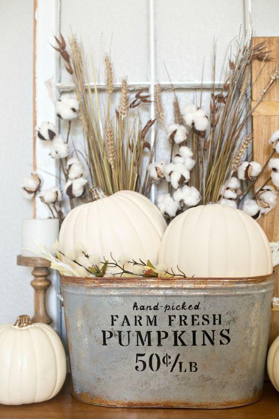 Rustic Pumpkin Basket | Fall Decor DIYs