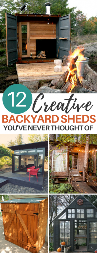 12 Creative Backyard Shed DIY Ideas You Haven't Thought of Before