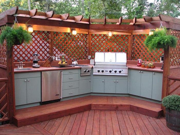 Modular Outdoor Kitchen Idea