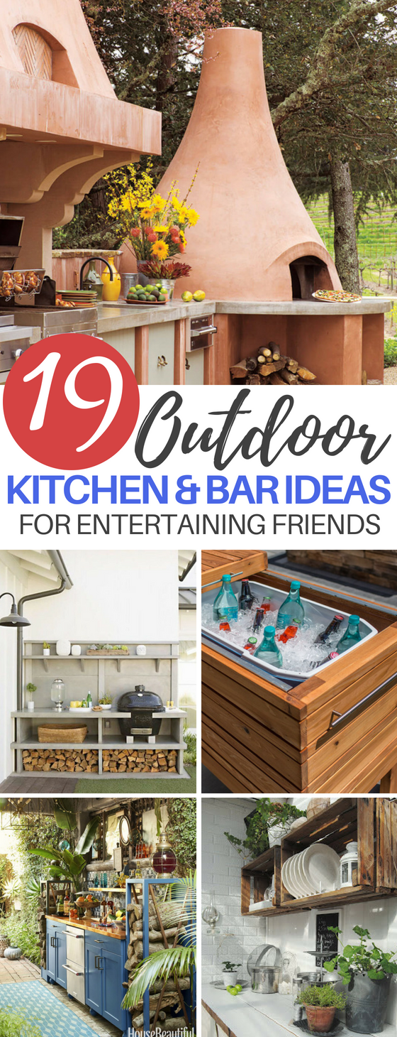 Outdoor Bar & Kitchen Ideas for Backyard Entertaining on creative pool deck ideas, creative diy kitchen ideas, creative kitchen backsplash ideas, creative small kitchen design ideas,
