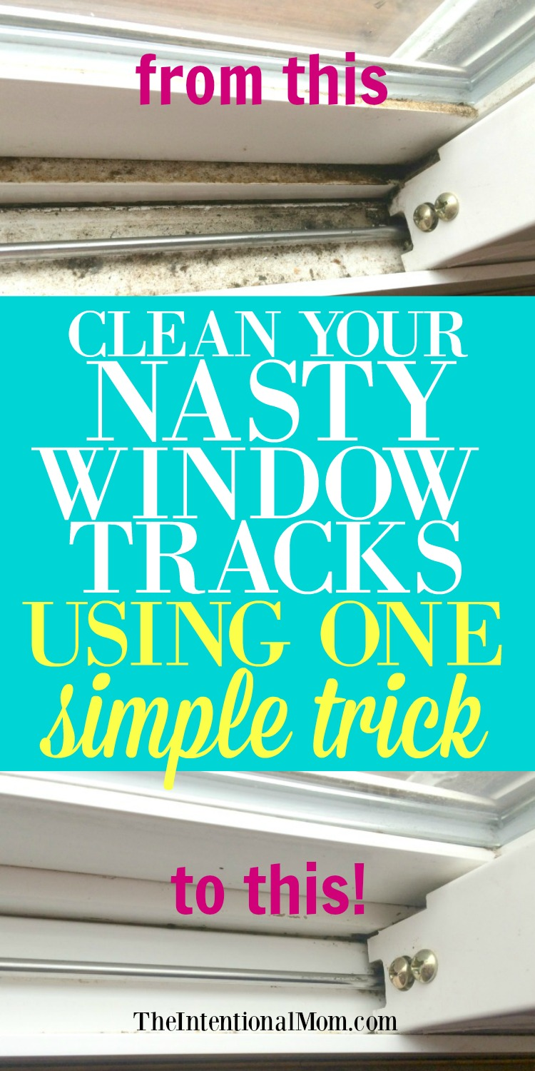 How to Clean Your Entire Home | How to Clean Window Tracks