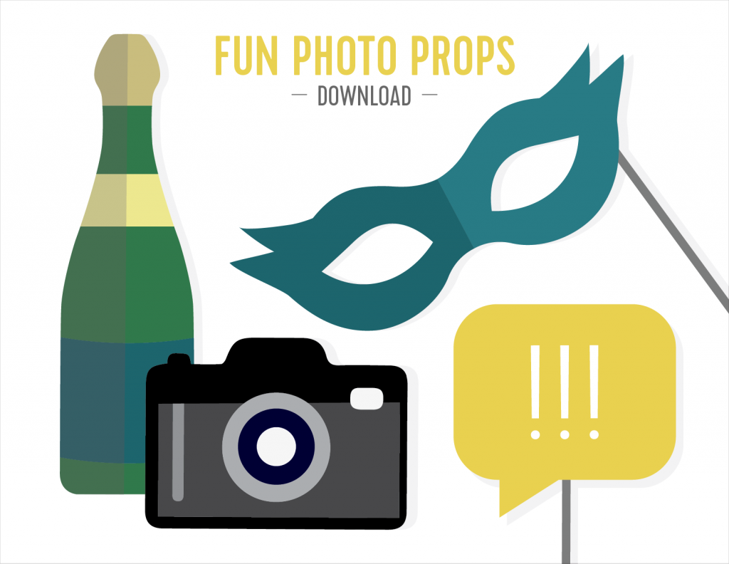 New Years Photo Backdrop Tutorial and Printables