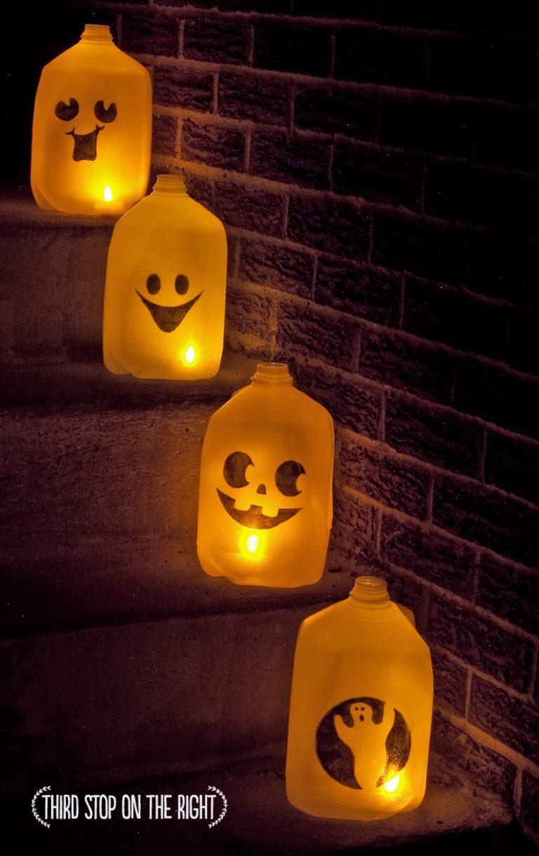 Spirit Jug DIY for Halloween