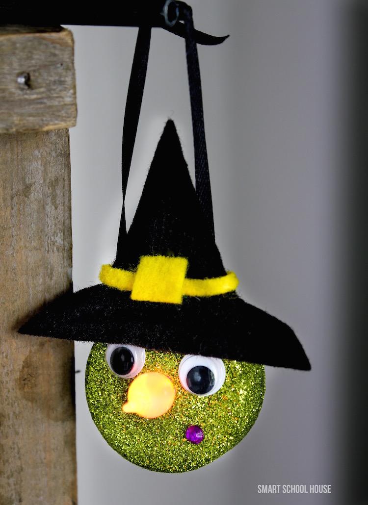 Tealight Witch Halloween DIYs