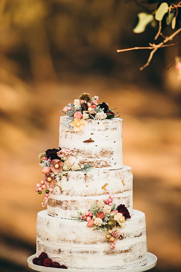 Woodland Wedding Cake Inspiration