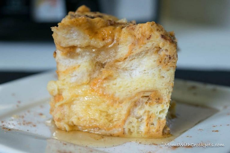 Crock Pot Pumpkin French Toast Casserole Fall Recipe